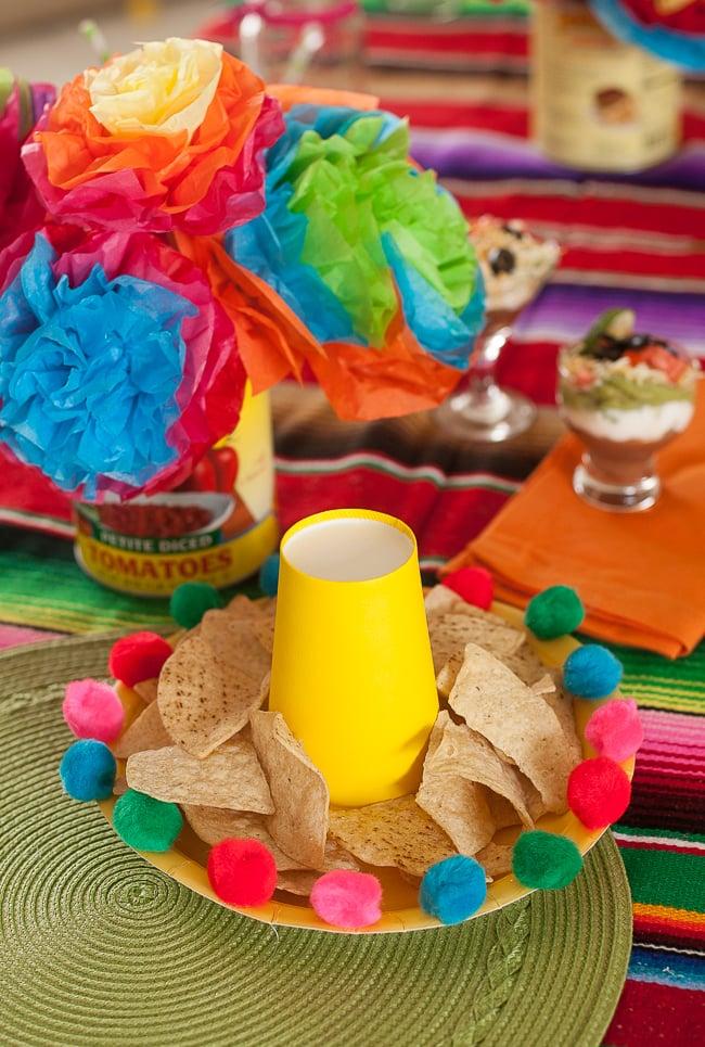 Easy Diy Sombrero Chip Platter For A Cinco De Mayo Party Frog