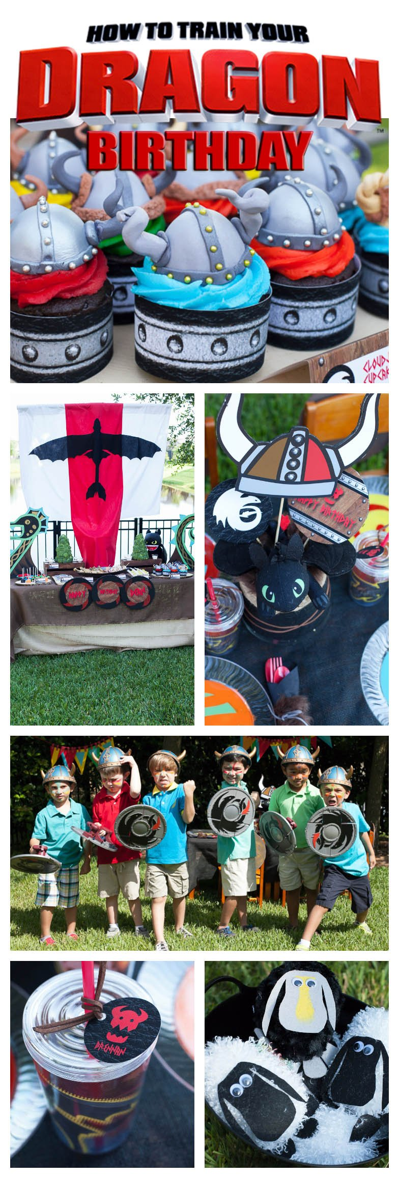 How to Train Your Dragon party inspiration #viking
