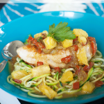 Coconut Chicken Curry with Zucchini Noodles for an Informal Dinner Party