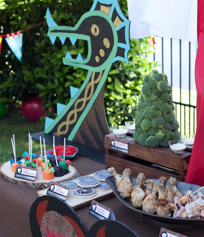 how to train your dragon party-29
