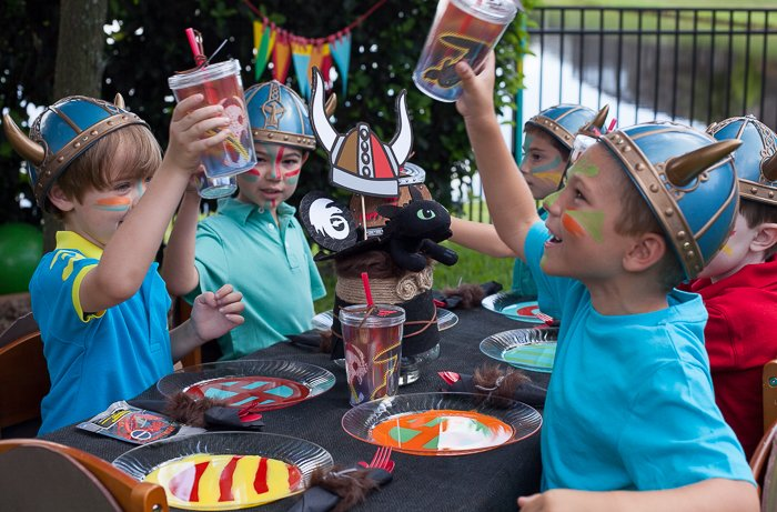 How To Train Your Dragon Birthday Party Part I Frog Prince Paperie
