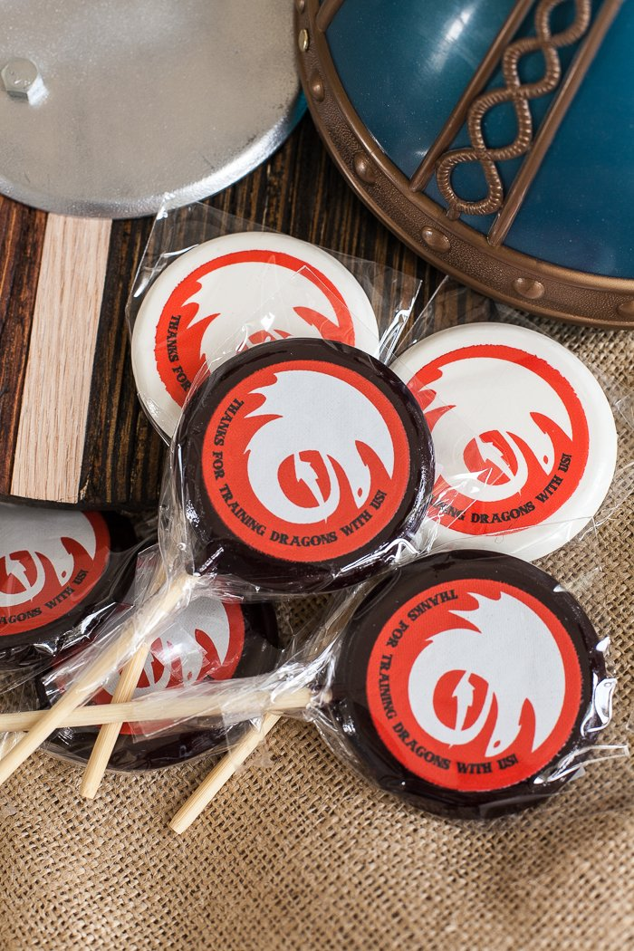 how to train your dragon party favors