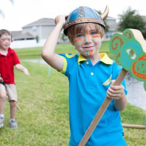 How to Train Your Dragon Birthday Party – Part II – Party Games!