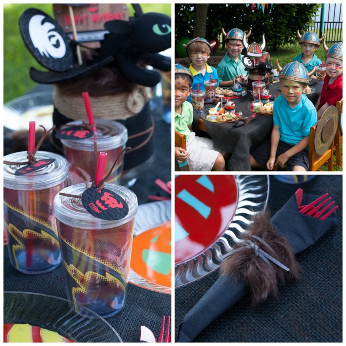 how to train your dragon tablescape inspiration