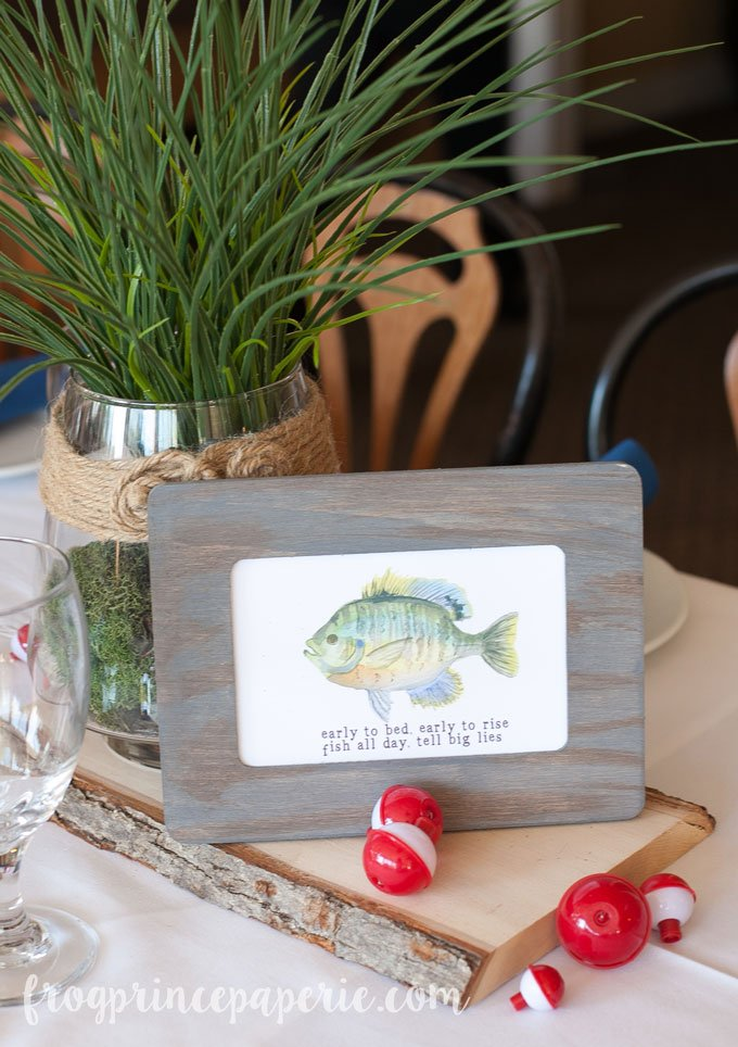 Fishing centerpieces