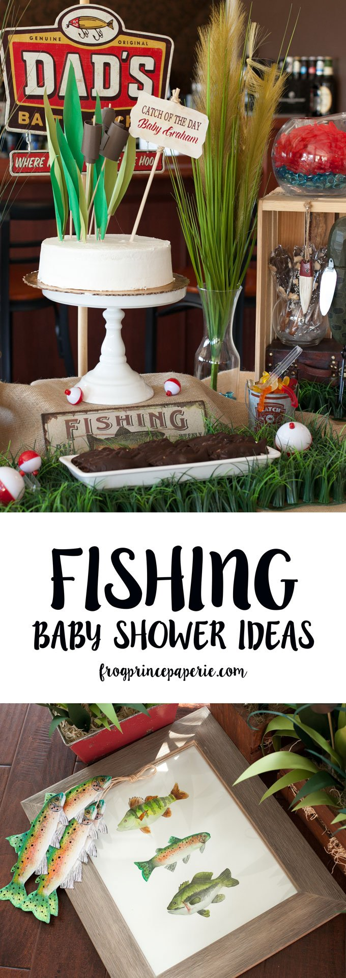 Fishing baby shower DIY ideas