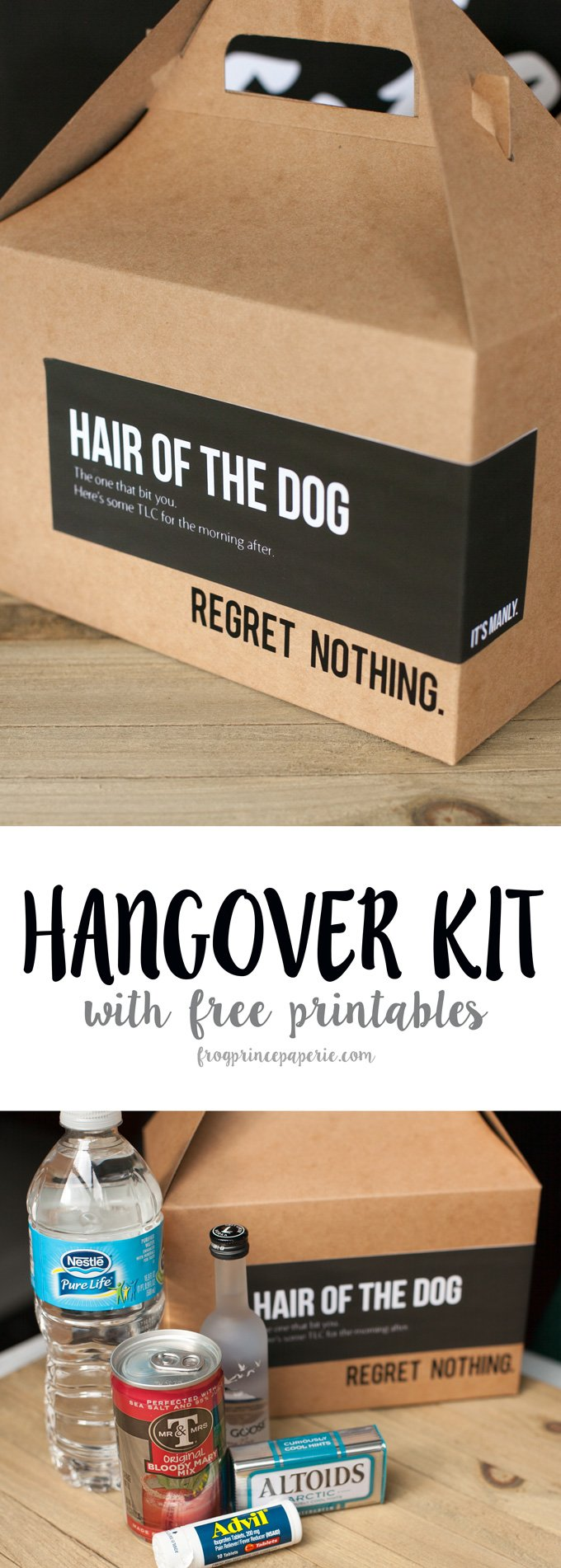 DIY Hangover Kit