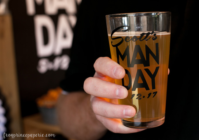 Clean bachelor party ideas - manly man drinks are a must