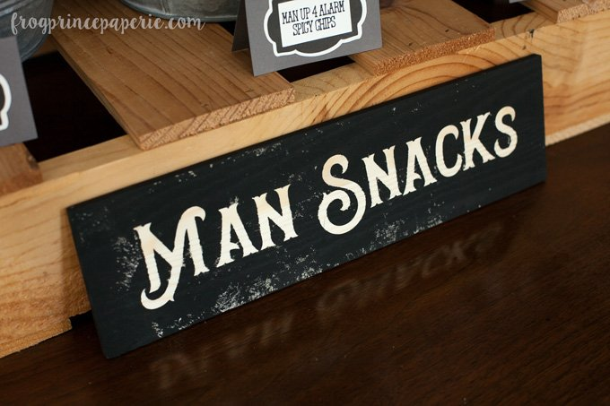 Clean bachelor party ideas - must remember some manly snacks!
