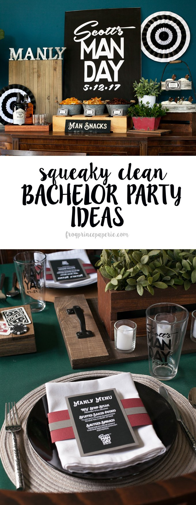 Squeaky clean bachelor party ideas for your wolf pack