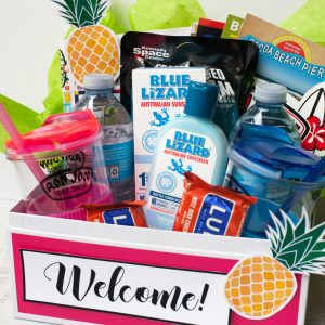 How to Make a Welcome Basket for House Guests