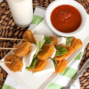 #ad Five-Minute Chicken Parmesan on a Stick with Tyson® Chicken