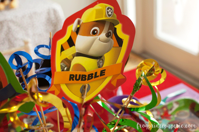 Paw patrol party ideas - use purchase items and add DIY flair!