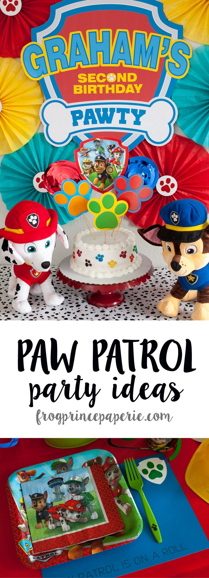 Paw Patrol Birthday Party Ideas For Your