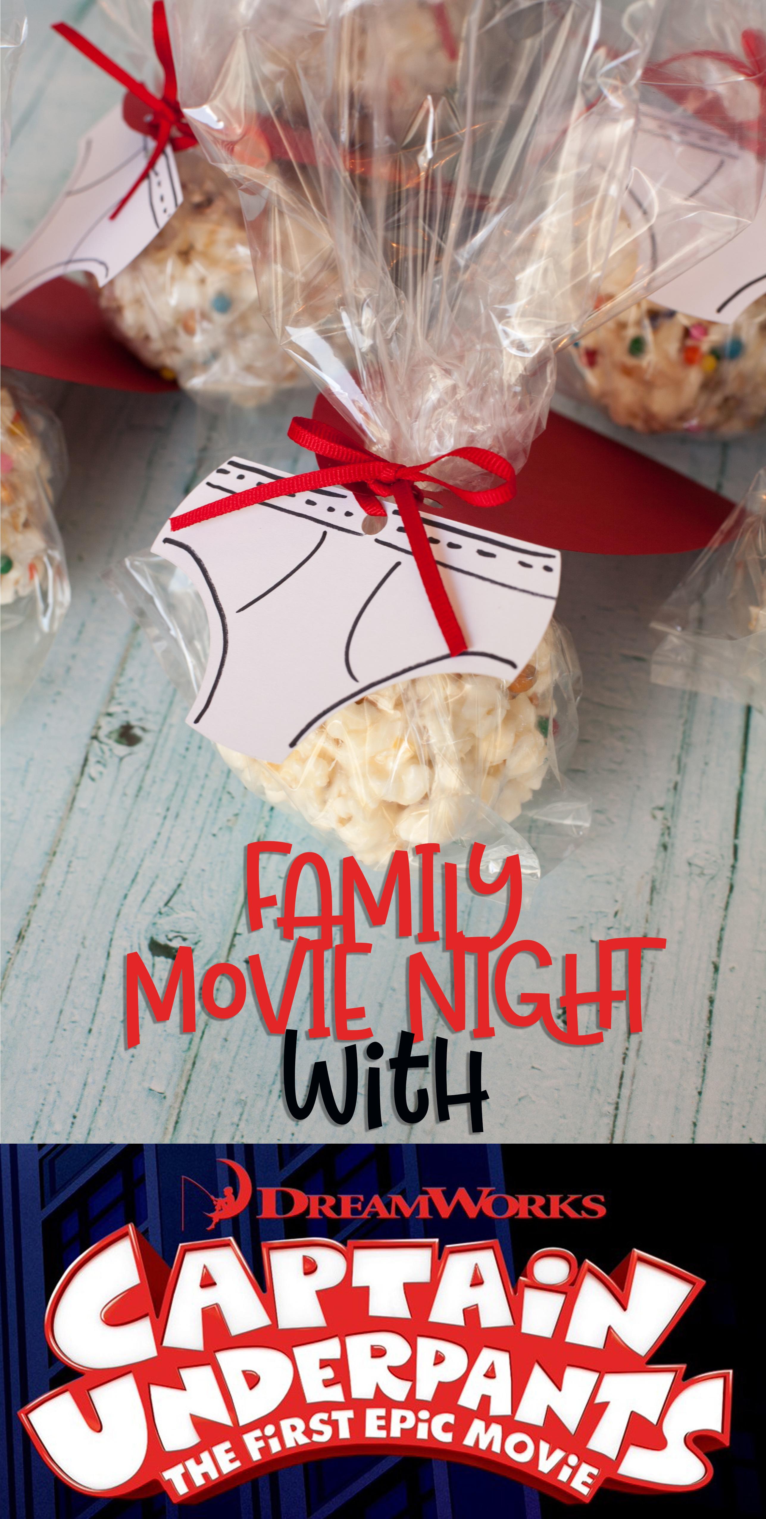 Captain Underpants Family Movie Night