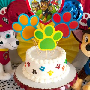 Paw Patrol Party Cake DIY