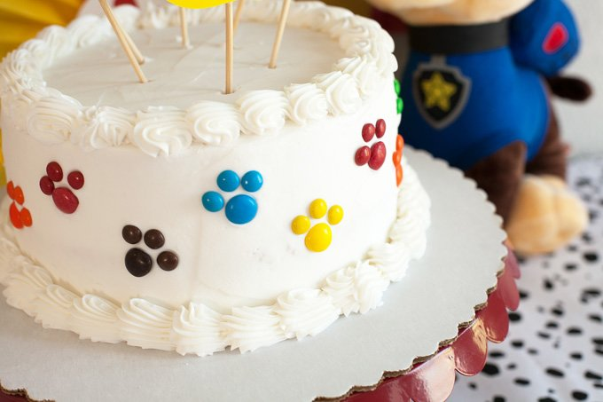 Paw Patrol Party Cake Diy Your Cake In Less Than 10 Minutes