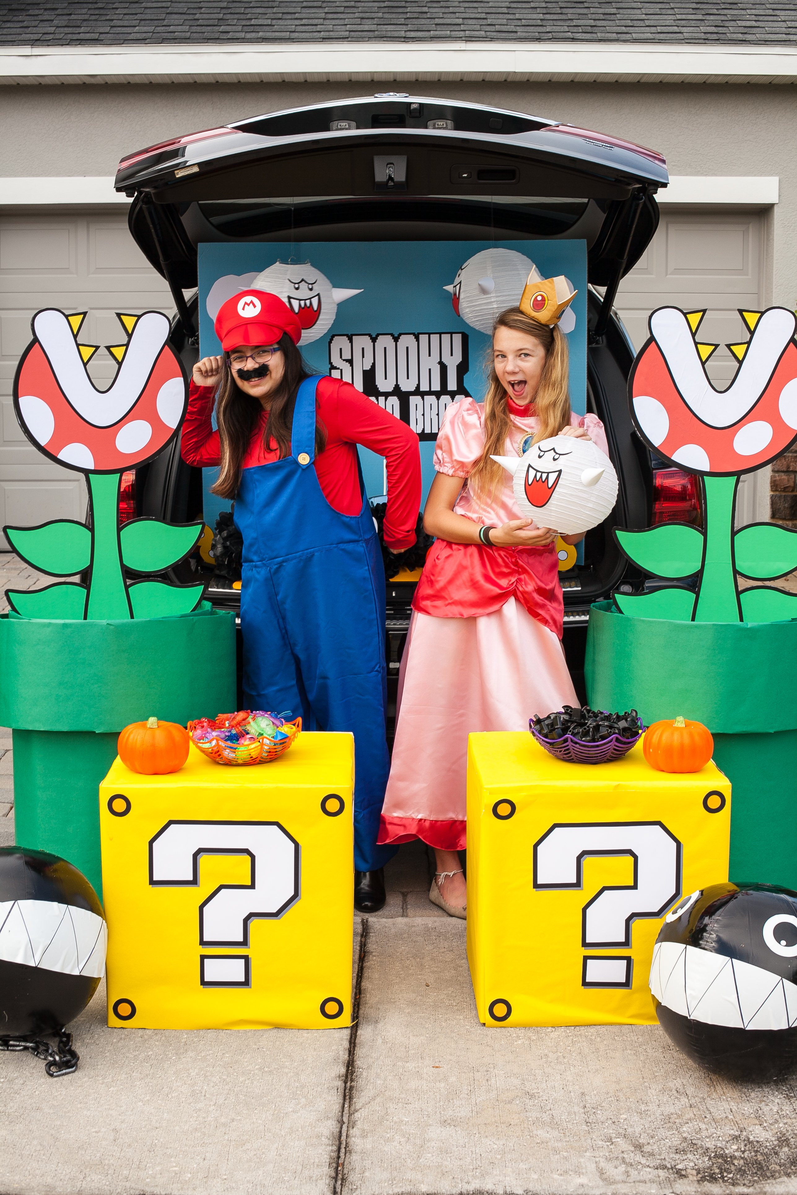 Mario Brothers Trunk or Treat Ideas