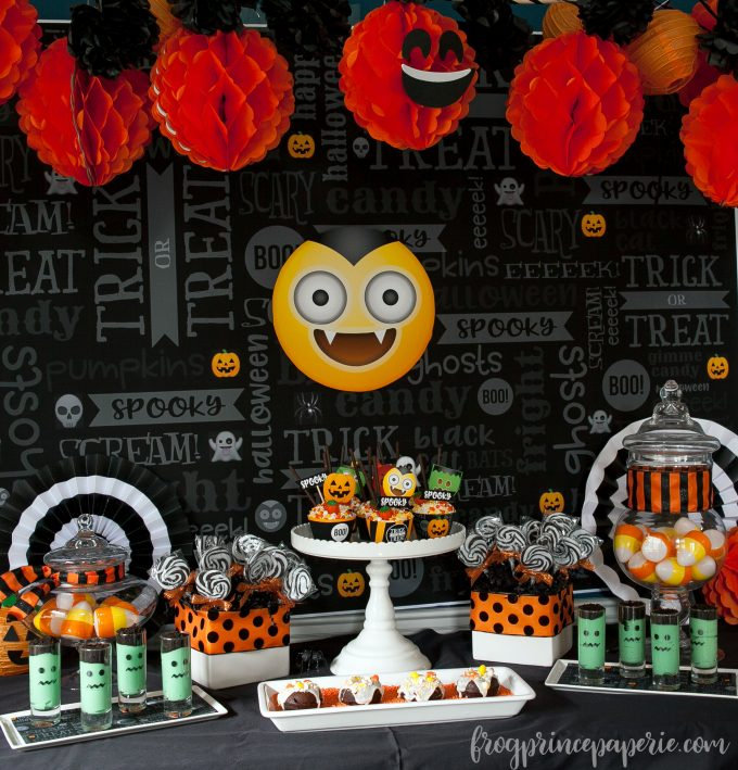 Emoji Halloween party ideas