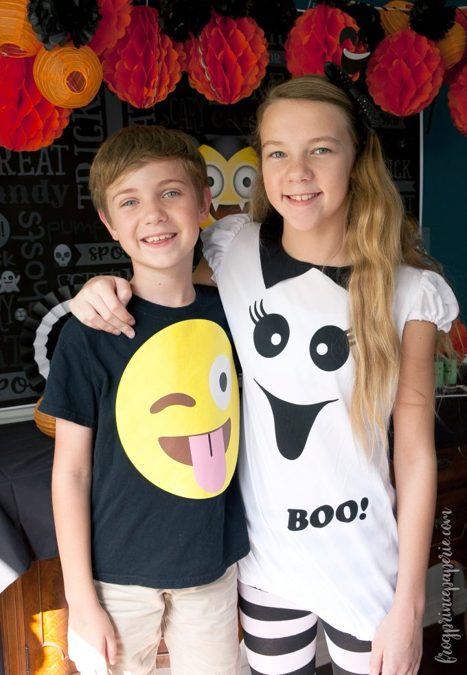 Emoji Halloween party ideas - costumes
