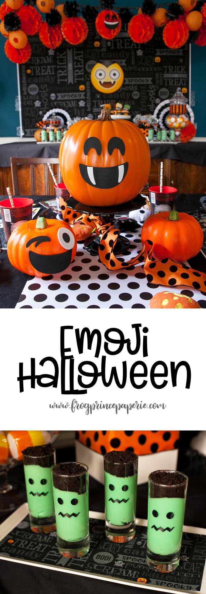 Emoji Halloween Party