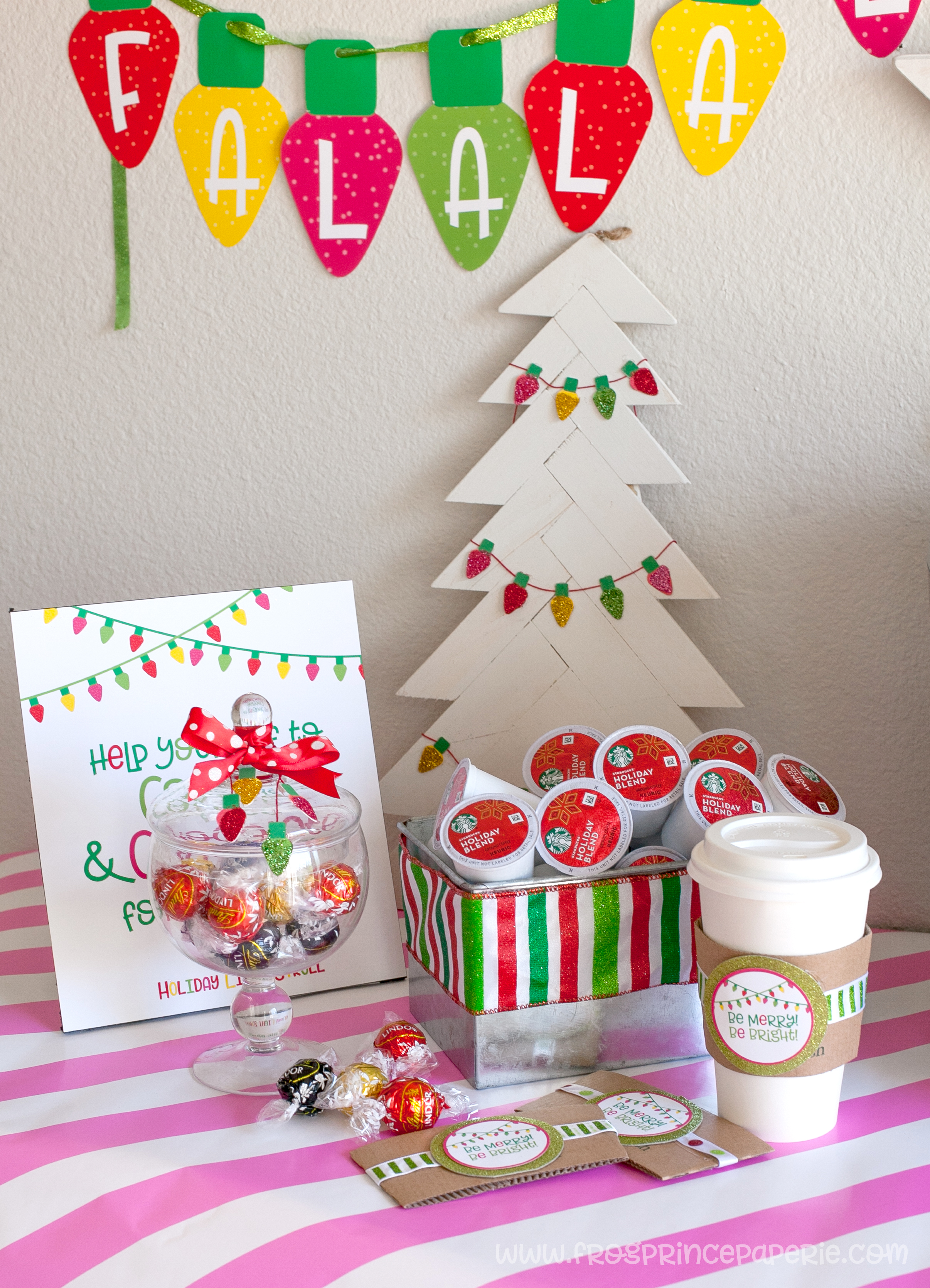 Holiday Light Stroll Party Ideas