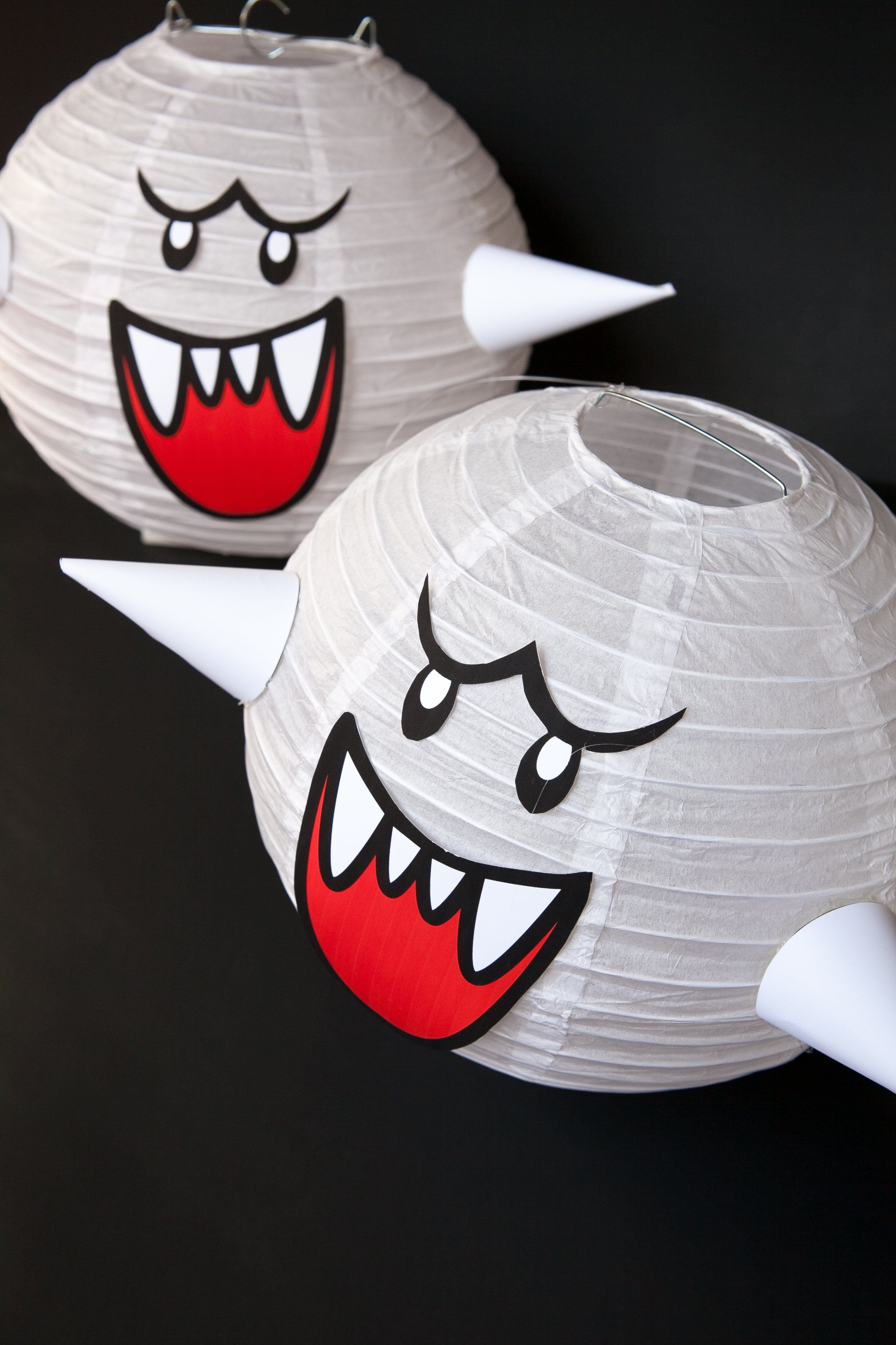 How to make a Mario Brothers Boo Ghost DIY