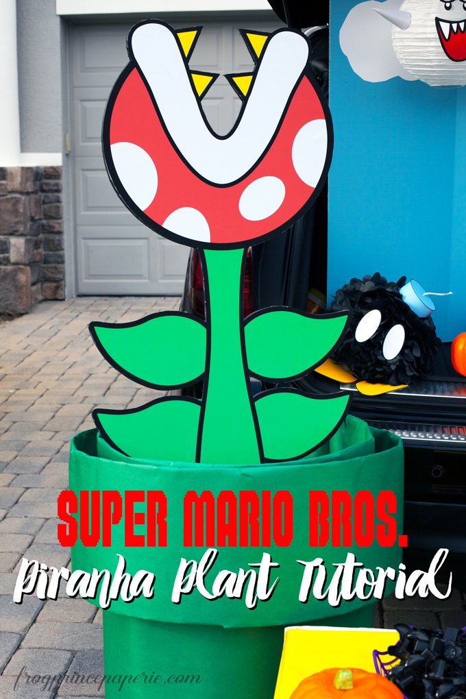 Mario Brothers Piranha Plant Diy And Question Mark Box