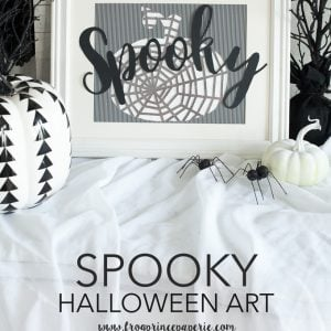 DIY halloween art