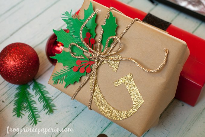 creative gift wrapping with cricut explore frog prince paperie. Black Bedroom Furniture Sets. Home Design Ideas