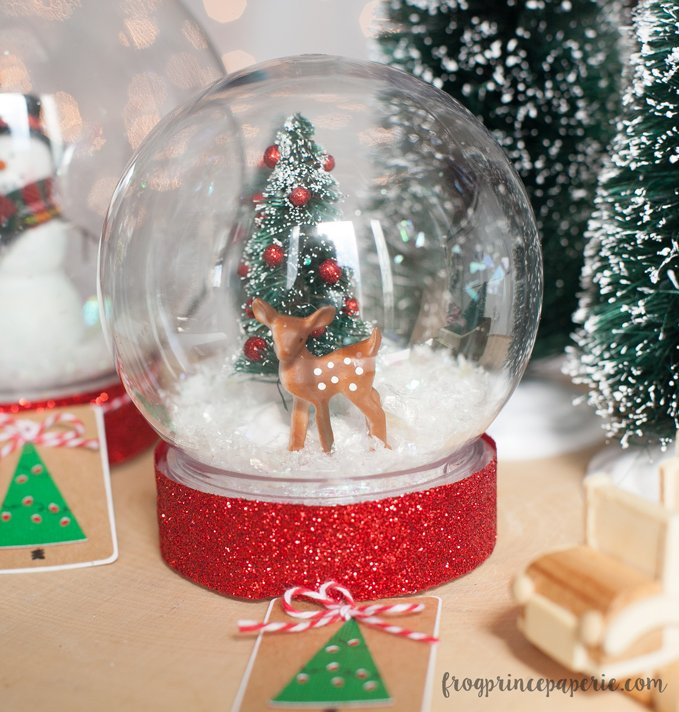 our snowglobes were assembled with krazy glue its firm grip makes it one of the better things to use for a project like this and with adult guidance