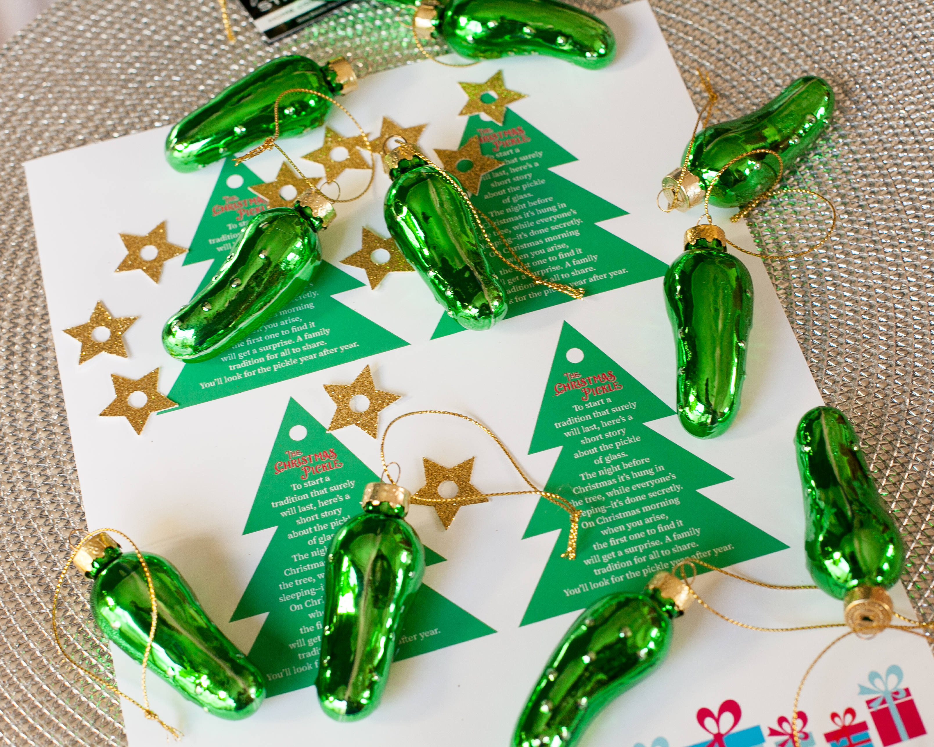 Christmas Pickle Poem Free Printable 1 Frog Prince Paperie