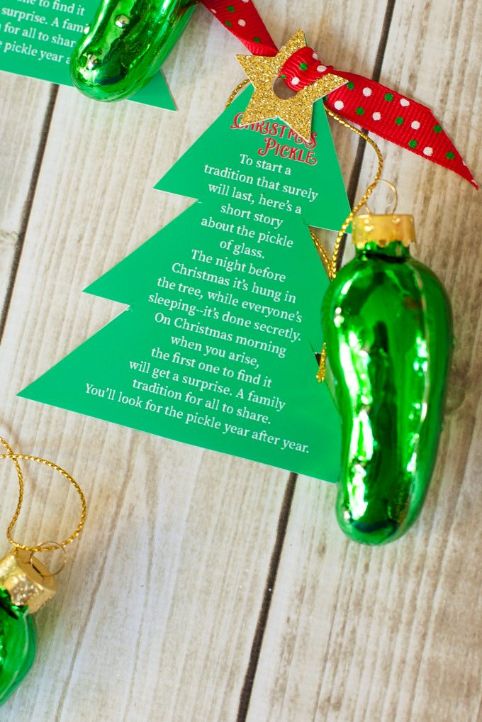 you can pick up your christmas pickle ornaments here - Christmas Pickle Story