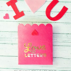 Love Letters 5 Minute Valentine