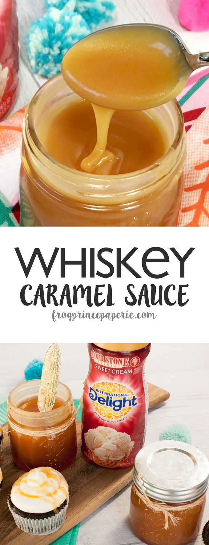 Make this show-stopping whiskey caramel sauce recipe at home with International Delight!