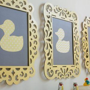 Duck Baby Shower Decorations – Frames
