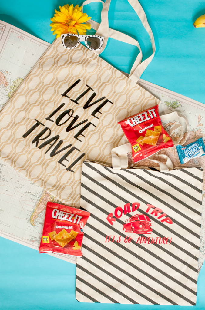 Make the perfect travel snack bag with downloadable SVGs!