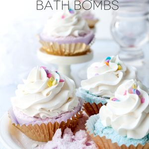 Vanilla Cupcake Bath Bomb Recipe