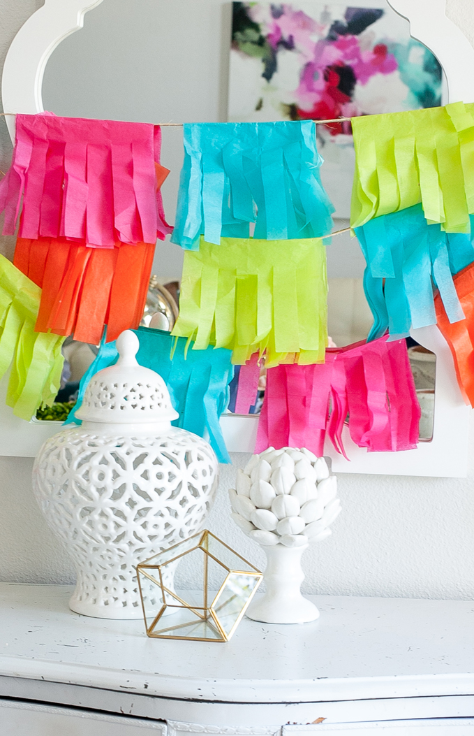How to Make a Fringed Banner