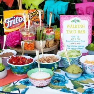 Taco Bar Ideas for Walking Tacos