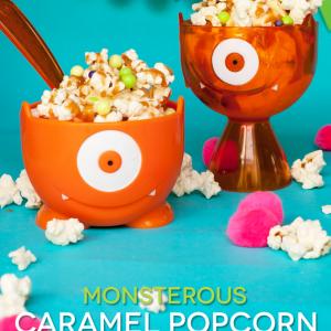 Caramel Popcorn Sundaes and the New Hotel Transylvania 3 Movie