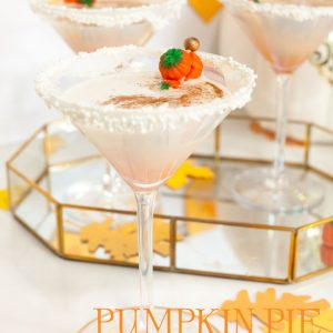 Pumpkin Pie Martini Recipe for a Fall Party