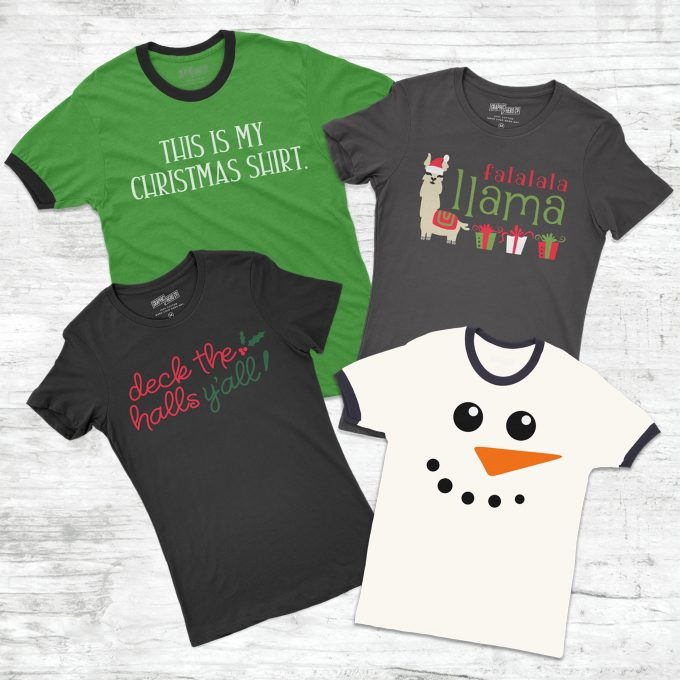 Christmas T Shirts For Your Cricut Machine Frog Prince Paperie