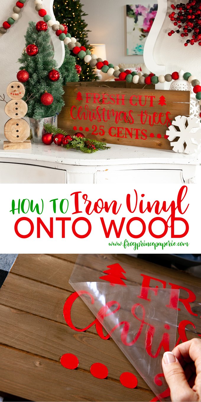 How To Put Cricut Vinyl On Wood With Your Easypress 2