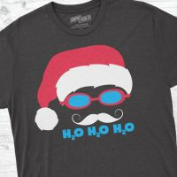 Funny Christmas Shirt for Swimmers