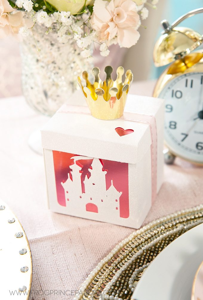 Disney Princess Baby Shower With The Cricut Maker Frog Prince Paperie
