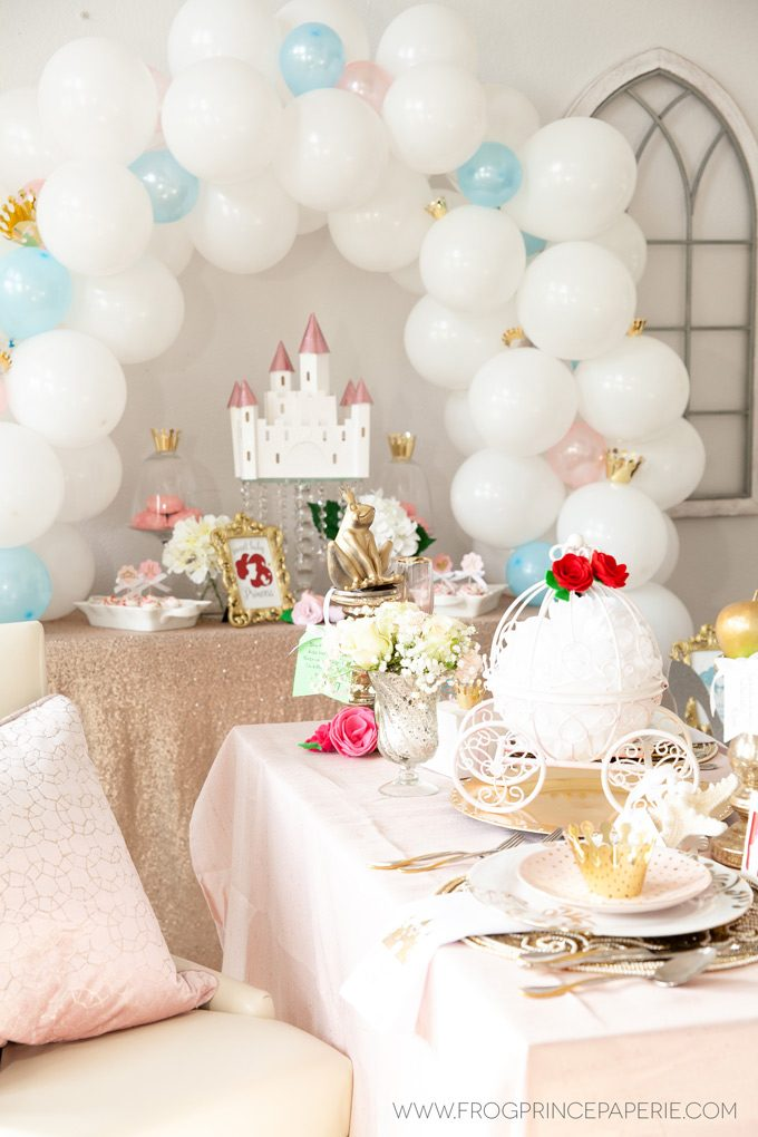 Disney Princess Baby Shower With The Cricut Maker - Frog Prince Paperie-4140