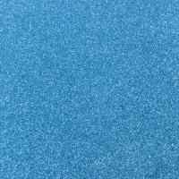 Blue Glitter Paper