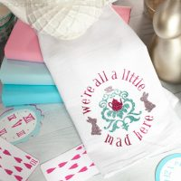 Mad Hatter Tea Towels