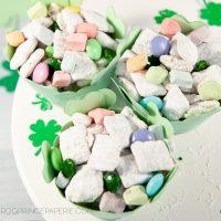 Lucky Charms Marshmallow Muddy Buddies Recipe
